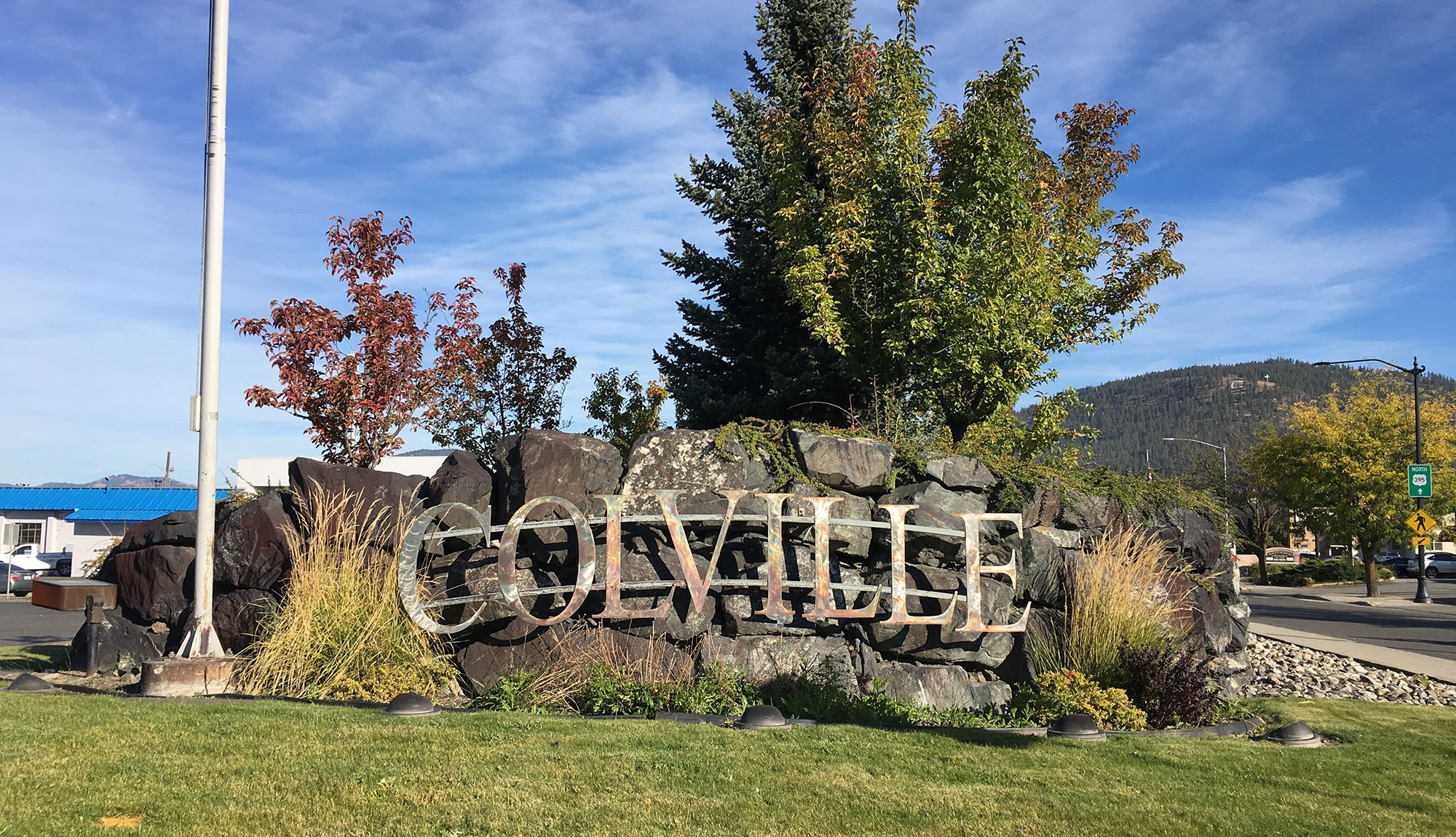 City of Colville Sign