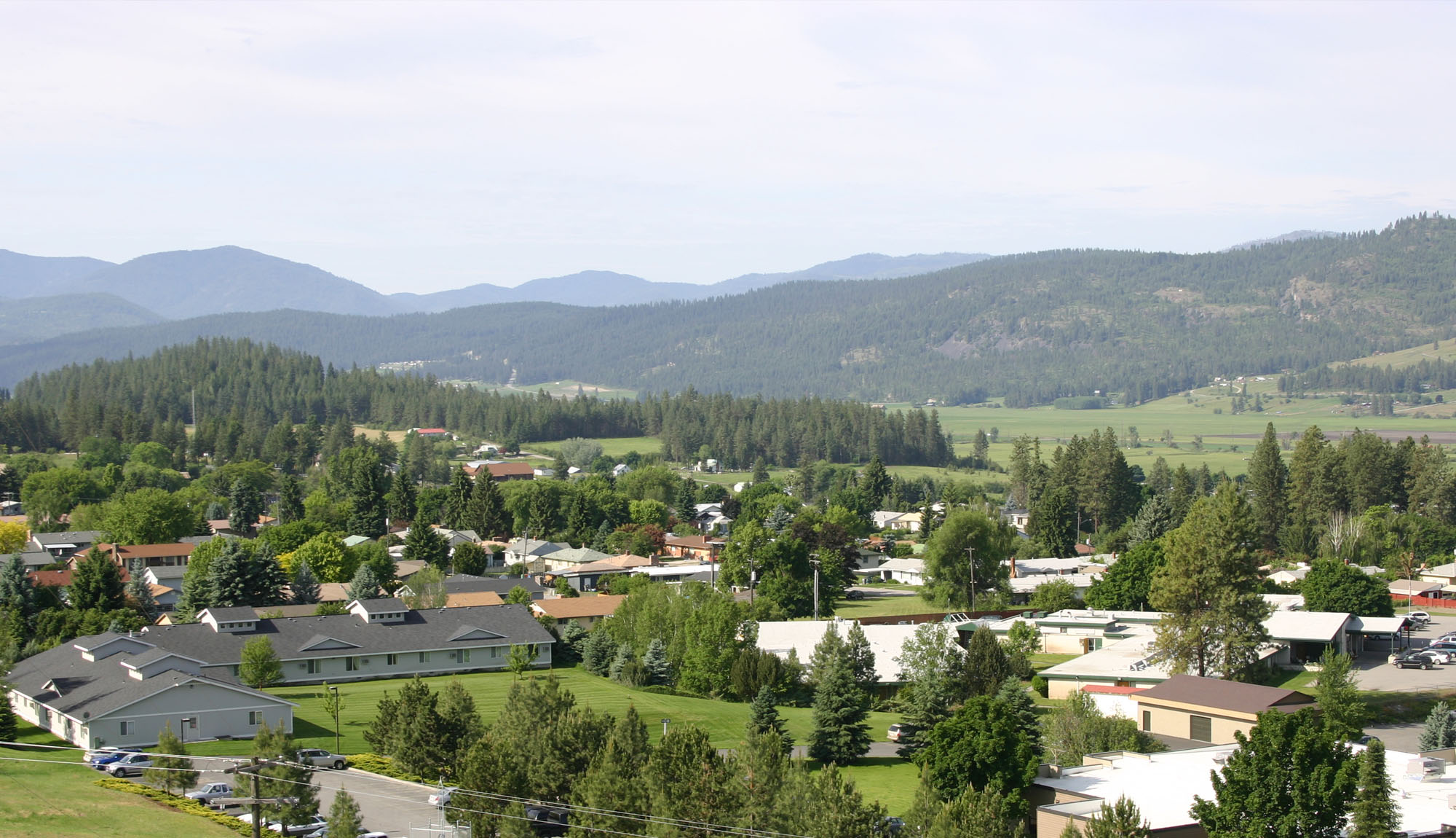 Colville Mountain View